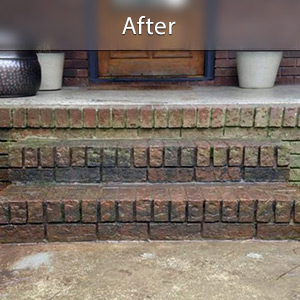 Sinking stairs repaired with PolyLevel® Bozeman