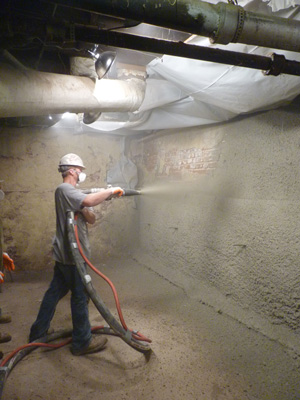 Residential Shotcrete Installed