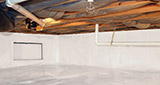 Crawl space moisture control and structural repair in Great Falls, Helena, Bozeman